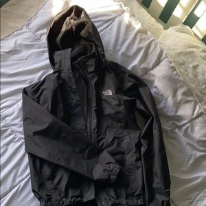 Northface Black windbreaker